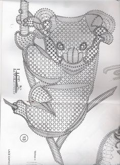 lace express 2002 - 02 - 25 Mb - isamamo - Álbumes web de Picasa Bobbin Lace Patterns, Tatting Patterns, Bruges Lace, Bobbin Lacemaking, Lace Jewelry, Thread Work, White Embroidery, Lace Making, Simple Art