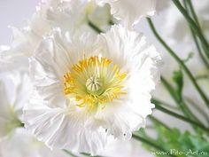 Handmade Flowers, decoclay
