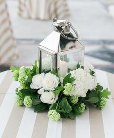 Featured Photographer: Shea Christine Photography; Wedding reception centerpiece idea.