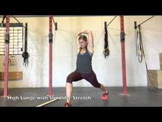 CrossFit Marin- Shoulder and Hip Warm Up for Yoga Wheel