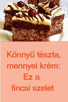 Nagyon finom: #süti #édesség Sweets, Kitchen, Recipes, Food, Sweet Pastries, Cuisine, Meal, Goodies, Eten