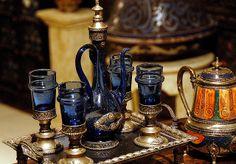 Moroccan tea set | Moroccan Tea Set