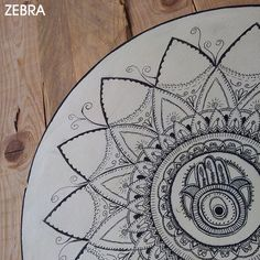 Hand Drawn Hamsa-Hand Drawn Mandala-Healing Mandala-Hamsa Art-Wall Décor-House Protection-Healing Decor-Natural Hamsa-Hamsa Décor by zebratoys on Etsy