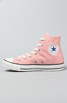 a6f67d9920ff Converse The Chuck Taylor All Star Hi Sneaker in Quartz Pink    Karmaloop.com -