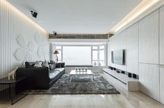 20 Attractive Black Sofa Living Room