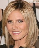 Heidi Klum with Long Bob Hairstyle
