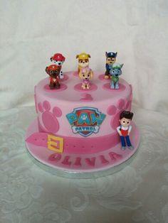 Paw patrol cake