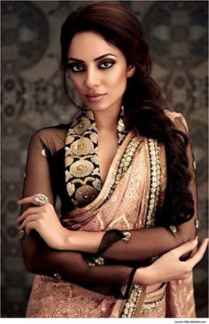 High Neck Saree Blouse Designs to Pamper your Style