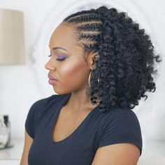 Wavy Hairstyles For Black Hair Virtual Hairstyles Free How To Cut A Pixie Haircut 20190112 - Crochet Hair Styles Curly Hair Styles, Long Curly Hair, Black Hair Styles With Braids, Short Hair Braids Black, Curly Short, Curly Bob, Twist Out Styles, Braid Styles, Short Styles