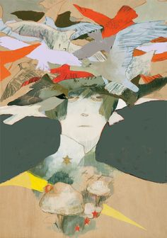 'N' by Nakazawa ~ Love the palette, love the texture - wonderful!