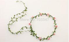 12pcs/lot Bride  Flower Hair Garland Festival Wedding Floral Garland Hair  Headwear Hair  Accessories For Women *Free Shipping*