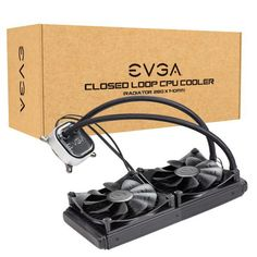 EVGA Fan CLC 280 Liquid CPU Cooler RetailWaterblockPremium Retention parts for Intel and upcoming variantsAMD retention ring for supporting and upcoming CopperFully controllable RGB LEDNoise Level X X (LxW Zulu, Coolers For Sale, Pc Parts, Computer Hardware, Friends, All In One, Place Card Holders, Cool Stuff, Retail