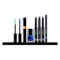Available Now L'été Papillon De Chanel Summer 2013 Makeup Collection ❤ liked on Polyvore featuring beauty products, makeup, beauty, chanel, chanel cosmetics, chanel beauty products and chanel makeup