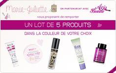 Concours Avis beauté : 5 produits à gagner !