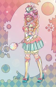 This was made on the intent to be the second half of my Candypunk ^_^
