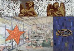 David Salle Mr. Lucky 1998 Oil and acrylic on canvas 244 x 335 cm