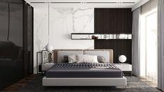 The Ultimate Luxury Interior Bedroom Designs Using Neutral Pallets Trick - homeuntold Bedroom Bed Design, Modern Bedroom Design, Home Bedroom, Bedroom Decor, Bedroom Designs, Luxury Interior, Interior Design, Luxurious Bedrooms, Furniture