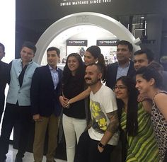 Deepika in cochin for a tissot event