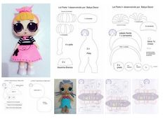 1 million+ Stunning Free Images to Use Anywhere Sewing Projects For Kids, Sewing For Kids, Doll Crafts, Diy Doll, Fabric Dolls, Paper Dolls, Bear Felt, Felt Templates, Free To Use Images