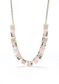 kate spade new york® Blush Tones Collar Necklace
