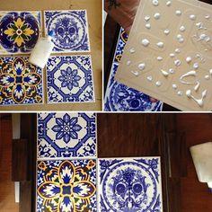 Além da aplicação tradicional, como revestimento de pisos e paredes, é superbacana bolar novas ideias para aplicar azulejo à decoração. Veja o pap!