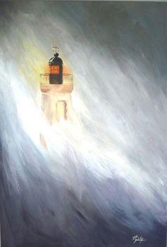 Le Cap de la Hague Le Cap, Illustration, Painting, Normandie, Painting Art, Paintings, Illustrations, Painted Canvas, Drawings