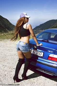 Bmw Girl, Bavarian Motor Works, Bmw Classic Cars, Bmw Love, Sweet Cars, Car Girls, Bmw E36, Hot Cars, Lady