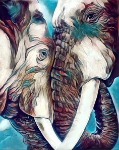 Boycott the Arizona Renaissance Festival and any activity worldwide that enslaves animals for human pleasure and profit! Elephant Artwork, Elephant Love, Elephant Paintings, Animal Drawings, Art Drawings, Elephant Tattoos, Wildlife Art, Of Wallpaper, Spirit Animal