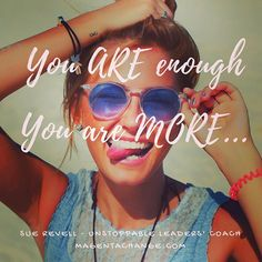 A reminder we all need from time to time. We are not only 'enough'... We are MORE. Some days we have to look a little deeper to harness our own inner resources, but they are always there. You are MORE! #innergame #resourceful #resilience #flexibility #leadership #coaching #selfbelief #believe #confidence #purpose #Flow #resistance #business #entrepreneur #athletes #motivationalquotes #inspiration #inspirationalquotes #enough #mindset #unstoppable #unstoppablefutures #unstoppableleaders