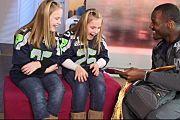Derrick Coleman Makes Fans' Dream Come True - so inspiring & fun!