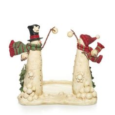Top Hat Snowmen : Jar Holder : Yankee Candle  Very cute!