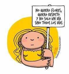 El 8 de marzo se celebra el día de la Mujer.