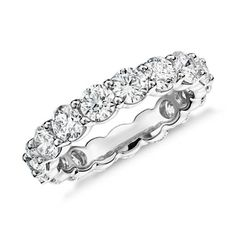 Classic Diamond Eternity Ring 18 K Gold Ring Information Stock number Metal: 750 Gold Height: mm Width: mm Diamond Information Ring Size: Number of Diamonds Total Ct. US 5 16 US 17  Round Cut Diamond Rings, Beautiful Diamond Rings, Eternity Ring Diamond, Diamond Gemstone, Diamond Engagement Rings, Round Diamonds, Eternity Rings, Diamond Jewelry, Jewelry Rings