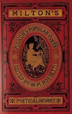 "≈ Beautiful Antique Books ≈ ""Milton's Poetical Works"""