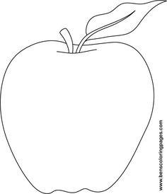 7 Best Images of Printable Apple Template Preschool - Free Apple Template, Apple Template Printable and Apple Template Coloring Page Preschool Apple Theme, Apple Activities, Fall Preschool, Autumn Activities, Preschool Activities, September Preschool, Apple Template, Auryn, Apple Unit