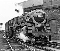 BR standard 'Crosti boilered' class 9F 2-10-0