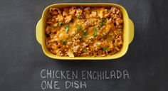 Chicken Enchilada Casserole recipe #CWcolor
