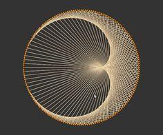 Eu gostaria de adicionar algumas gotas cintilantes nesta arte de seqüência de caracteres de lua para fazer estrelas