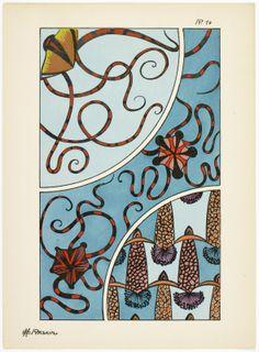 Art deco patterns from Oceanic Fantasies, by E H Raskin, Pattern Drafting, Tarot, Art Deco, Patterns, Architecture, Inspiration, Fantasy, Block Prints, Arquitetura