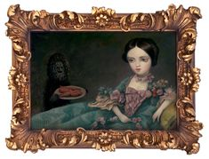 The Gay West, A Solo Art Show Featuring the Work of Pop Surrealist Mark Ryden at Kohn Gallery in Los Angeles Mark Ryden, Arte Lowbrow, Vintage Thrift Stores, Little Golden Books, Couple Art, Old Master, Vintage Frames, Illustration Art, Illustrations
