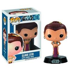 Slave Leia Pop! Heroes – Star Wars – Vinyl Figure