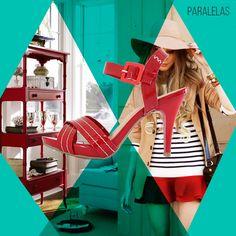 INVISTA no glamour do vermelho!   #vidascomestilo #paralelascalcados #modaporprecojusto #amosapatos #moda #shoes #love #instagood #fashion #estilo #instamood #instalove #welove #instashoes #trendalert #tendencia #conforto #cool #versatil #trend #amoguapa #sandalia #sandaliavermelha #vermelho