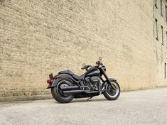 This takes dark to a new level. A powerful one. Blacked out from front to back and head to toe in attitude, including a new gloss black Screamin' Eagle Twin Cam 110B engine. | 2016 Harley-Davidon Fat Boy S