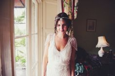 "Jenny Packham ""Eden"" dress in Ivory  #jennypackham  #weddingdress #jennypackhambride"