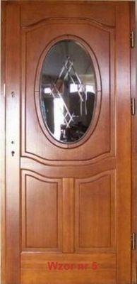 Drzwi Zewnetrzne Drewniane Ocieplane 6599635427 Oficjalne Archiwum Allegro Wooden Doors Decor Mirror
