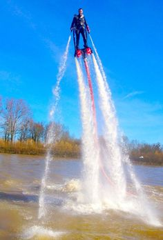 Le flyboard débarque a Metz