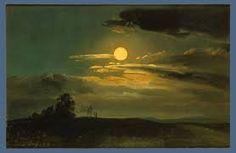 Moonlight 1831 by Johan Christian Dahl 1788 - 1857 Norwegian landscape painter