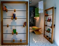 minimalist bookshelf...