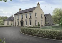 House Plans N Ireland New Plans for Small Houses In Ireland Home Design and Style – Home Plan And Design House Designs Ireland, Houses In Ireland, Ireland Homes, Dream House Exterior, Dream House Plans, Architectural Services, Georgian Homes, House Extensions, Classic House