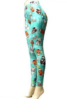 Leggings-christmas leggings-printed leggings-yoga by LaceandBow